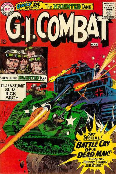 G.I. Combat #116 Comic Books - Covers, Scans, Photos  in G.I. Combat Comic Books - Covers, Scans, Gallery
