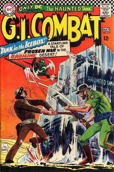 G.I. Combat #117 Comic Books - Covers, Scans, Photos  in G.I. Combat Comic Books - Covers, Scans, Gallery