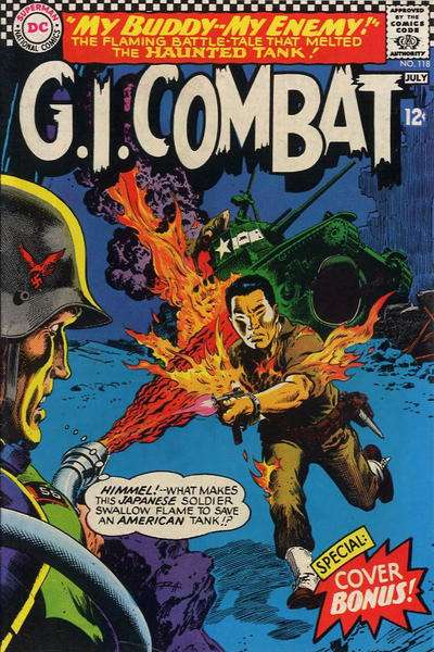 G.I. Combat #118 Comic Books - Covers, Scans, Photos  in G.I. Combat Comic Books - Covers, Scans, Gallery