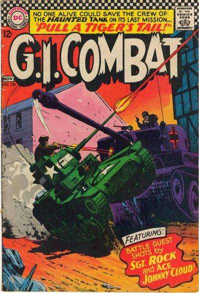 G.I. Combat #120 Comic Books - Covers, Scans, Photos  in G.I. Combat Comic Books - Covers, Scans, Gallery