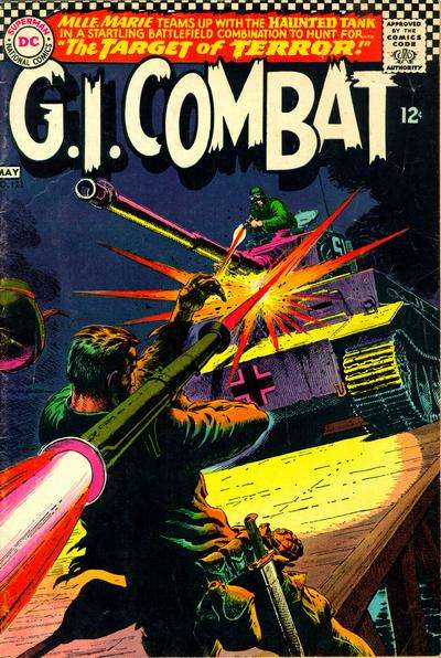 G.I. Combat #123 Comic Books - Covers, Scans, Photos  in G.I. Combat Comic Books - Covers, Scans, Gallery