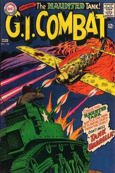 G.I. Combat #126 Comic Books - Covers, Scans, Photos  in G.I. Combat Comic Books - Covers, Scans, Gallery