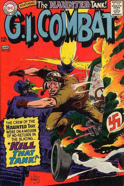 G.I. Combat #127 Comic Books - Covers, Scans, Photos  in G.I. Combat Comic Books - Covers, Scans, Gallery