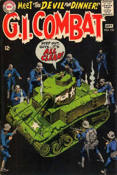 G.I. Combat #131 Comic Books - Covers, Scans, Photos  in G.I. Combat Comic Books - Covers, Scans, Gallery