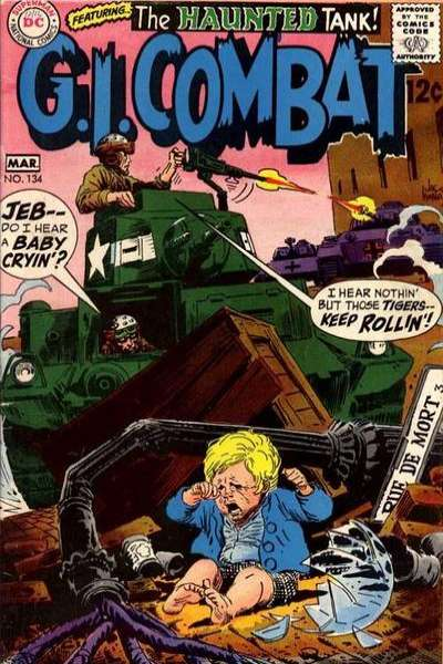 G.I. Combat #134 Comic Books - Covers, Scans, Photos  in G.I. Combat Comic Books - Covers, Scans, Gallery