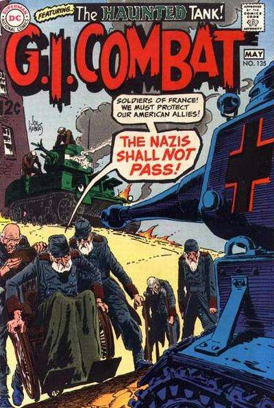 G.I. Combat #135 Comic Books - Covers, Scans, Photos  in G.I. Combat Comic Books - Covers, Scans, Gallery