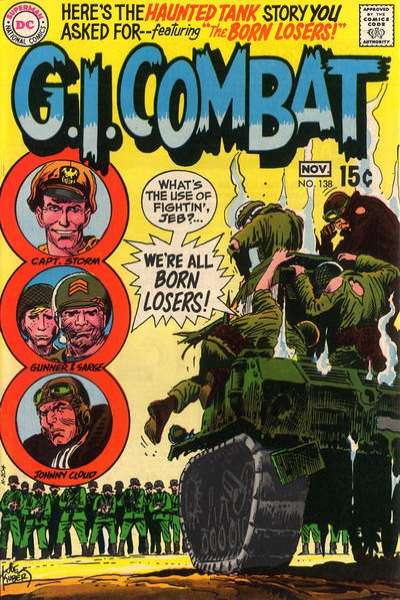 G.I. Combat #138 comic books for sale