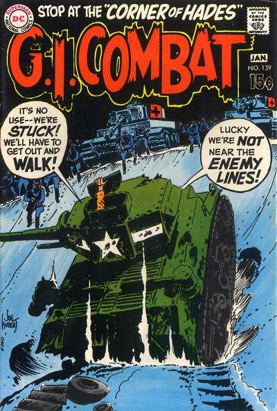 G.I. Combat #139 Comic Books - Covers, Scans, Photos  in G.I. Combat Comic Books - Covers, Scans, Gallery