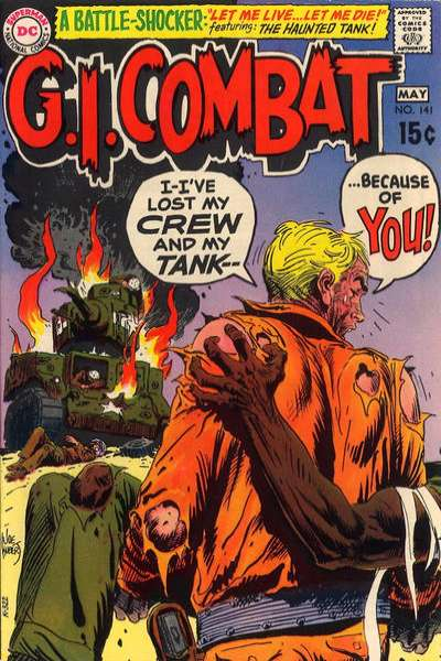 G.I. Combat #141 comic books for sale