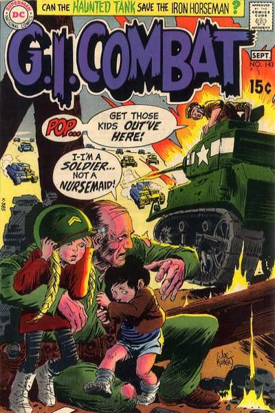 G.I. Combat #143 comic books for sale