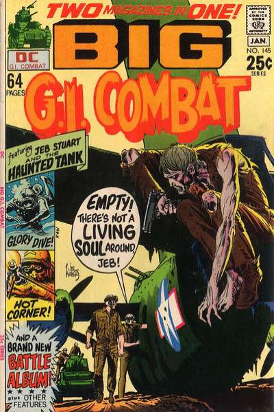 G.I. Combat #145 comic books for sale