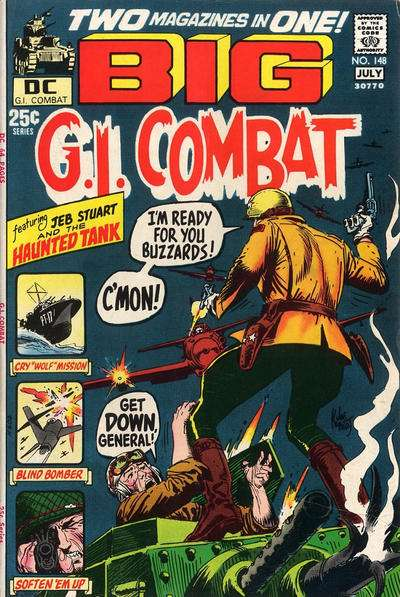 G.I. Combat #148 Comic Books - Covers, Scans, Photos  in G.I. Combat Comic Books - Covers, Scans, Gallery