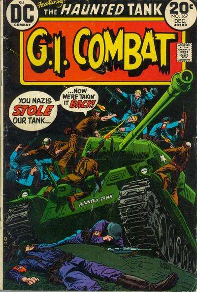 G.I. Combat #167 comic books for sale
