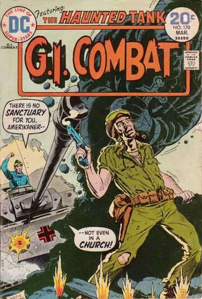 G.I. Combat #170 comic books for sale