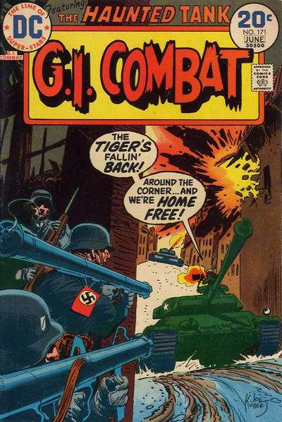 G.I. Combat #171 Comic Books - Covers, Scans, Photos  in G.I. Combat Comic Books - Covers, Scans, Gallery
