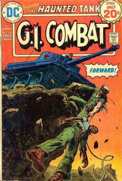 G.I. Combat #172 Comic Books - Covers, Scans, Photos  in G.I. Combat Comic Books - Covers, Scans, Gallery