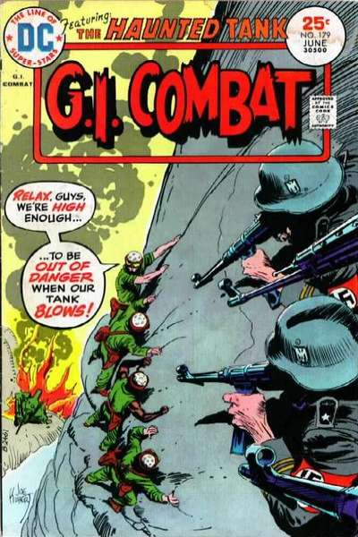 G.I. Combat #179 Comic Books - Covers, Scans, Photos  in G.I. Combat Comic Books - Covers, Scans, Gallery