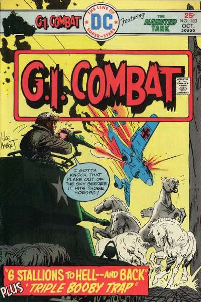 G.I. Combat #183 Comic Books - Covers, Scans, Photos  in G.I. Combat Comic Books - Covers, Scans, Gallery