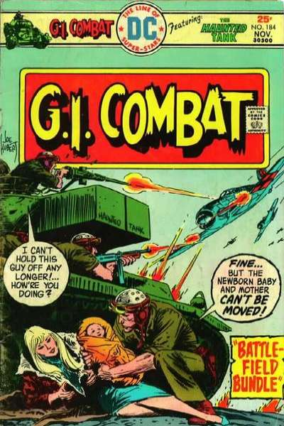 G.I. Combat #184 Comic Books - Covers, Scans, Photos  in G.I. Combat Comic Books - Covers, Scans, Gallery