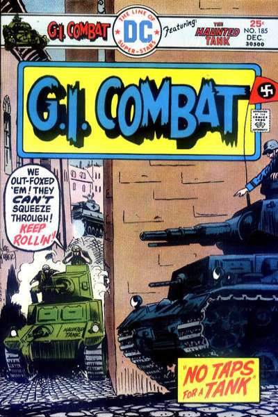 G.I. Combat #185 Comic Books - Covers, Scans, Photos  in G.I. Combat Comic Books - Covers, Scans, Gallery
