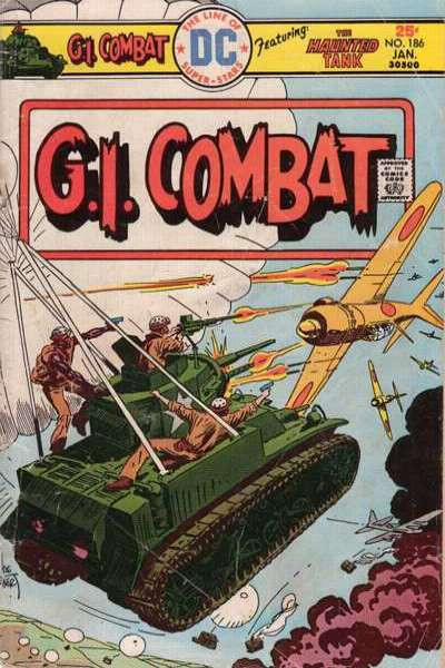G.I. Combat #186 Comic Books - Covers, Scans, Photos  in G.I. Combat Comic Books - Covers, Scans, Gallery