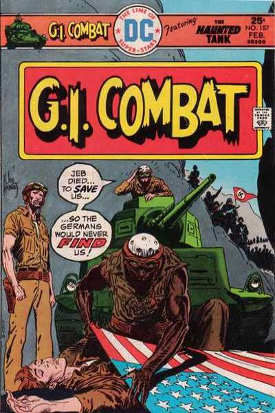 G.I. Combat #187 Comic Books - Covers, Scans, Photos  in G.I. Combat Comic Books - Covers, Scans, Gallery