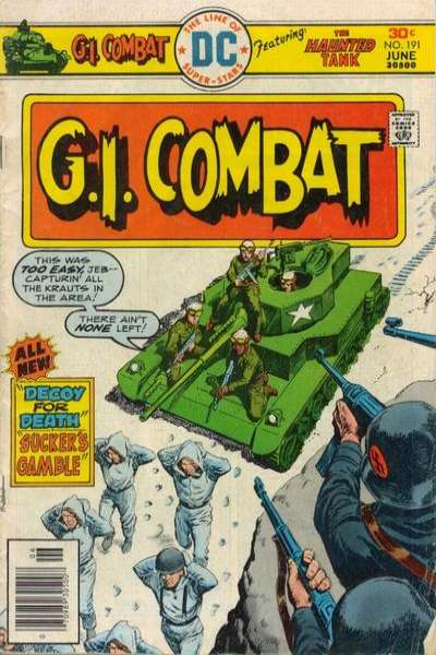 G.I. Combat #191 Comic Books - Covers, Scans, Photos  in G.I. Combat Comic Books - Covers, Scans, Gallery