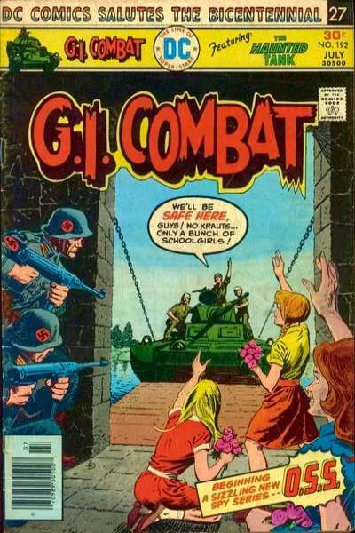 G.I. Combat #192 Comic Books - Covers, Scans, Photos  in G.I. Combat Comic Books - Covers, Scans, Gallery