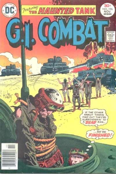 G.I. Combat #196 Comic Books - Covers, Scans, Photos  in G.I. Combat Comic Books - Covers, Scans, Gallery