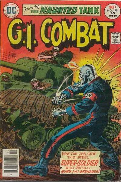 G.I. Combat #198 Comic Books - Covers, Scans, Photos  in G.I. Combat Comic Books - Covers, Scans, Gallery