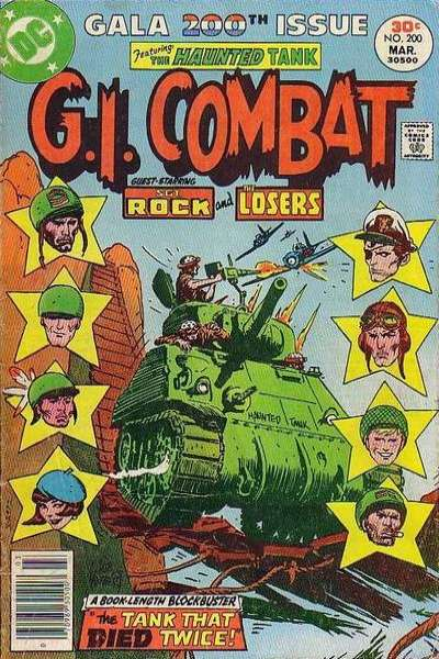 G.I. Combat #200 comic books - cover scans photos G.I. Combat #200 comic books - covers, picture gallery