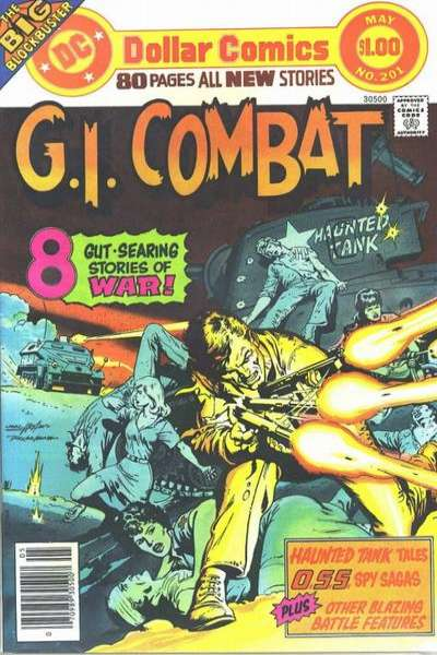 G.I. Combat #201 comic books - cover scans photos G.I. Combat #201 comic books - covers, picture gallery