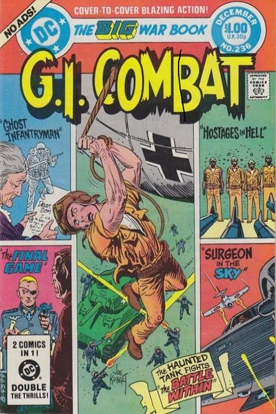 G.I. Combat #236 Comic Books - Covers, Scans, Photos  in G.I. Combat Comic Books - Covers, Scans, Gallery