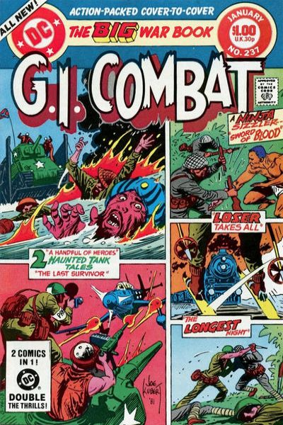 G.I. Combat #237 Comic Books - Covers, Scans, Photos  in G.I. Combat Comic Books - Covers, Scans, Gallery