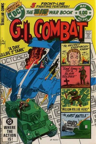G.I. Combat #241 comic books for sale