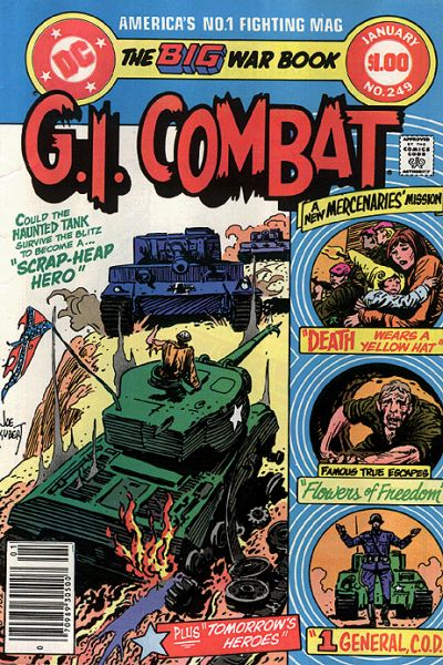 G.I. Combat #249 Comic Books - Covers, Scans, Photos  in G.I. Combat Comic Books - Covers, Scans, Gallery