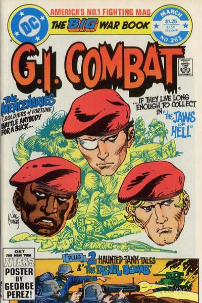 G.I. Combat #263 comic books for sale