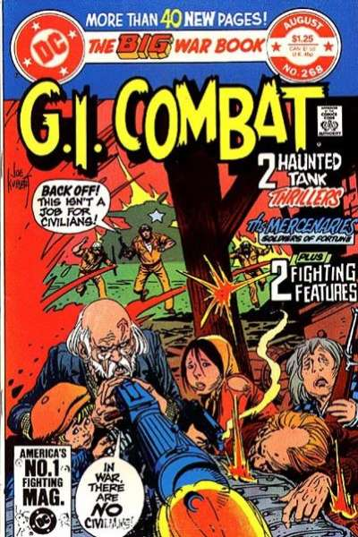 G.I. Combat #268 comic books - cover scans photos G.I. Combat #268 comic books - covers, picture gallery