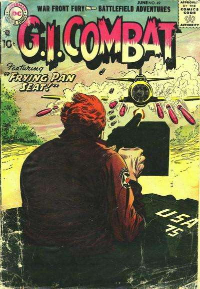 G.I. Combat #49 comic books for sale