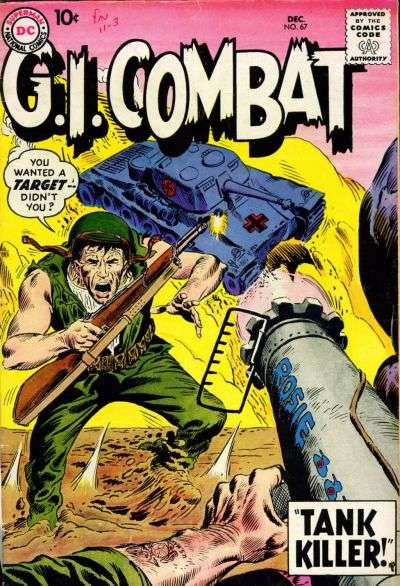 G.I. Combat #67 Comic Books - Covers, Scans, Photos  in G.I. Combat Comic Books - Covers, Scans, Gallery