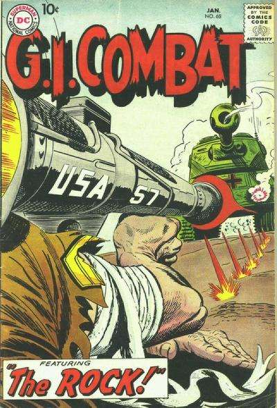 G.I. Combat #68 Comic Books - Covers, Scans, Photos  in G.I. Combat Comic Books - Covers, Scans, Gallery