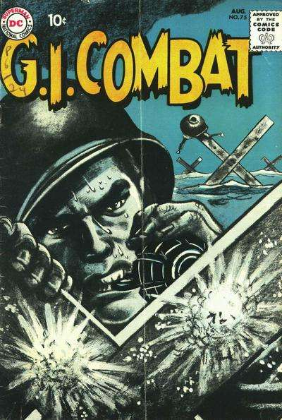 G.I. Combat #75 comic books - cover scans photos G.I. Combat #75 comic books - covers, picture gallery