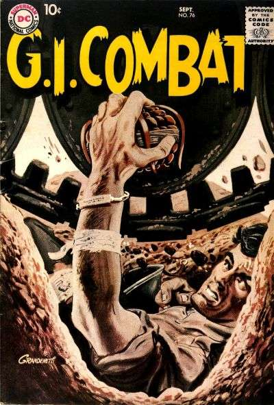 G.I. Combat #76 comic books for sale