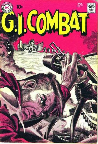 G.I. Combat #77 Comic Books - Covers, Scans, Photos  in G.I. Combat Comic Books - Covers, Scans, Gallery