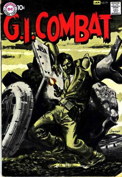 G.I. Combat #79 comic books - cover scans photos G.I. Combat #79 comic books - covers, picture gallery