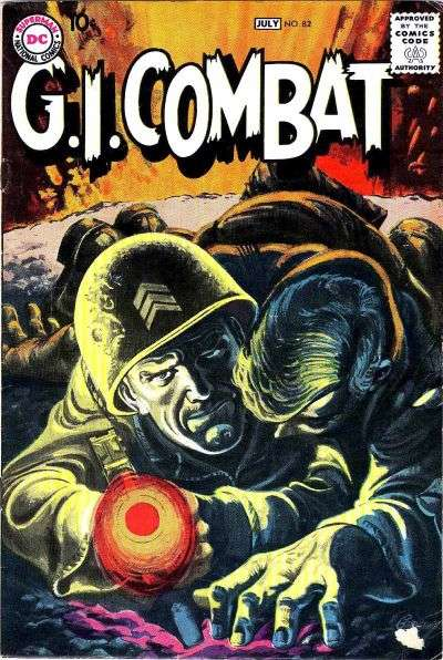 G.I. Combat #82 comic books - cover scans photos G.I. Combat #82 comic books - covers, picture gallery