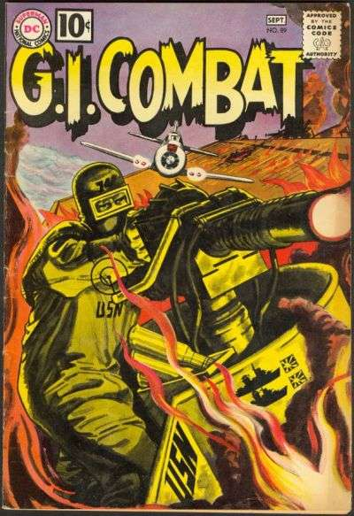 G.I. Combat #89 Comic Books - Covers, Scans, Photos  in G.I. Combat Comic Books - Covers, Scans, Gallery