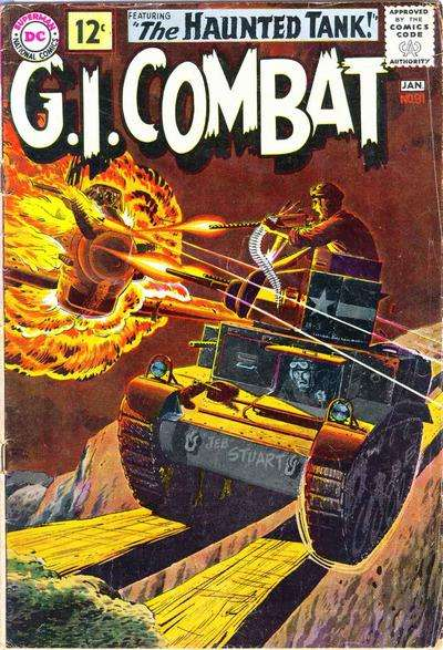 G.I. Combat #91 Comic Books - Covers, Scans, Photos  in G.I. Combat Comic Books - Covers, Scans, Gallery