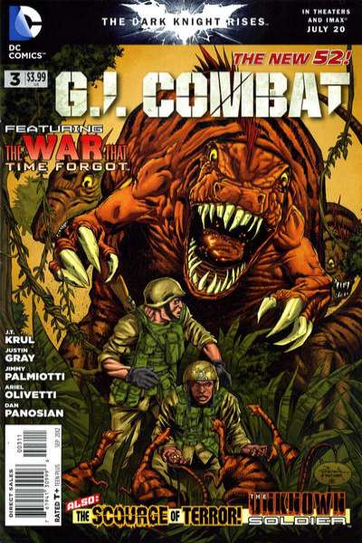 G.I. Combat #3 comic books - cover scans photos G.I. Combat #3 comic books - covers, picture gallery