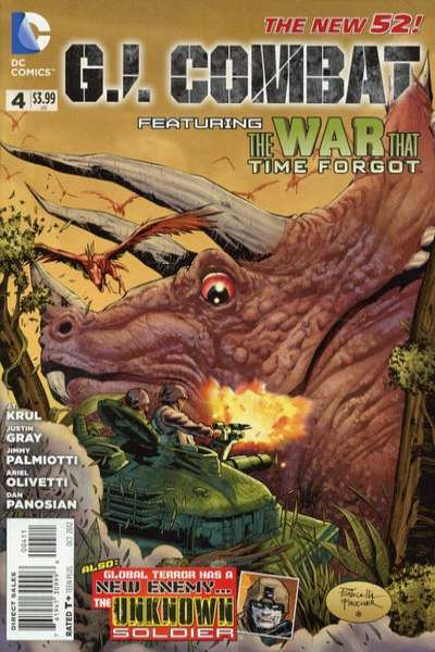 G.I. Combat #4 comic books for sale